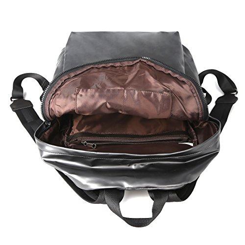 ZORFIN Fashion Nylon Backpack for Women&Men Rucksack Purse School Bags for Girls Waterproof Book Bag by ZORFIN (Image #5)