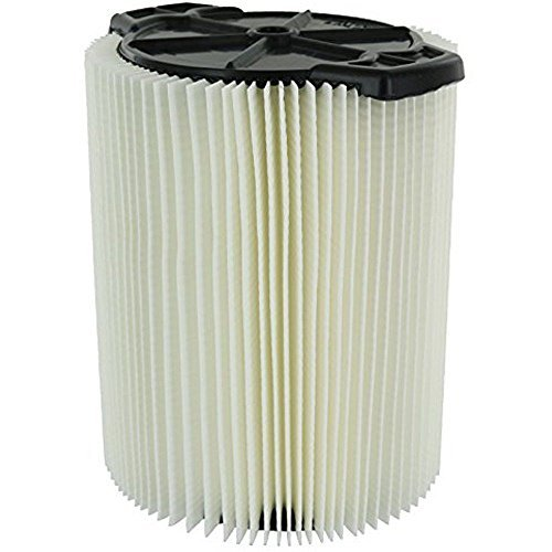- Ximoon 1-Layer Standard Wet/Dry Vac Filter for Ridgid VF4000 5-20 Gallon Vacuums