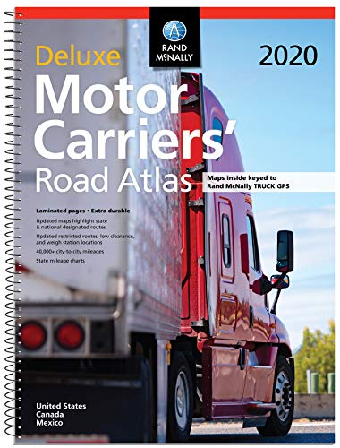 (Rand McNally 2020 Deluxe Motor Carriers' Road Atlas)