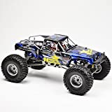 RGT RC Crawler 1/10 4wd Off Road Rock Crawler Truck 4x4 Electric Power Waterproof Hobby RC Car Rock Hammer 18000 Sold by Zerohobby(Blue)