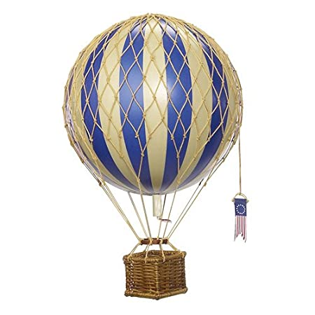 "Gifts Models Hot Air Balloon ""Gasballon"" Small Blue: Amazon.co.uk: Kitchen & Home"