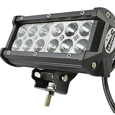 Safego 36W LED Work Light Bar 12V 24V Off-Road Working 4WD Car 4X4 Fog Driving Lamp for Truck ATV SUV
