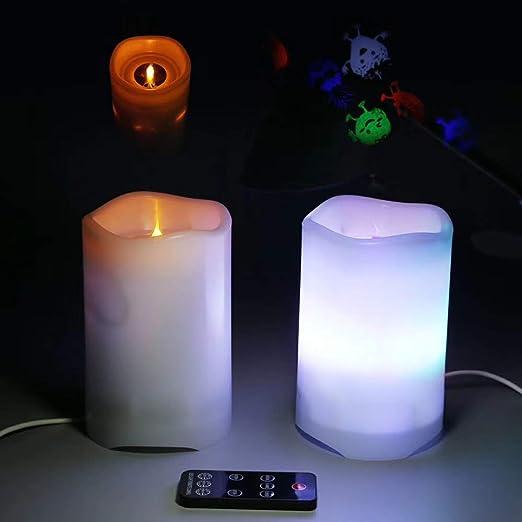 WYYZSS Luces Proyector, Vela LED Luz De Proyección, Lámpara ...