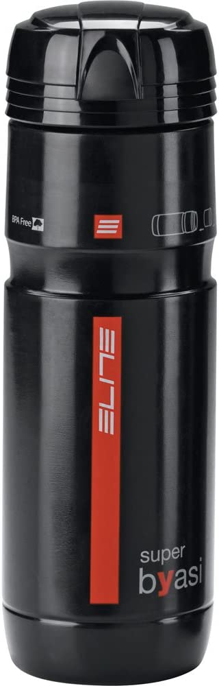 Elite Superbyasi - Bidón para bicicleta, color negro, 750 ml ...