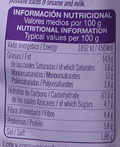 Quely Palitos Con Chía 50 g Pack de 22: Amazon.es ...