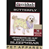 PAJAMAS BUTTERFLY DD YELLOW XS, My Pet Supplies