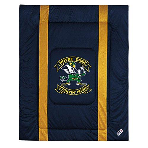 NCAA Notre Dame Fighting Irish Sideline Comforter Twin (Texas Comforter Sidelines)