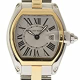 Cartier Roadster Swiss-Quartz Female Watch W62026Y4 (Certified Pre-Owned)
