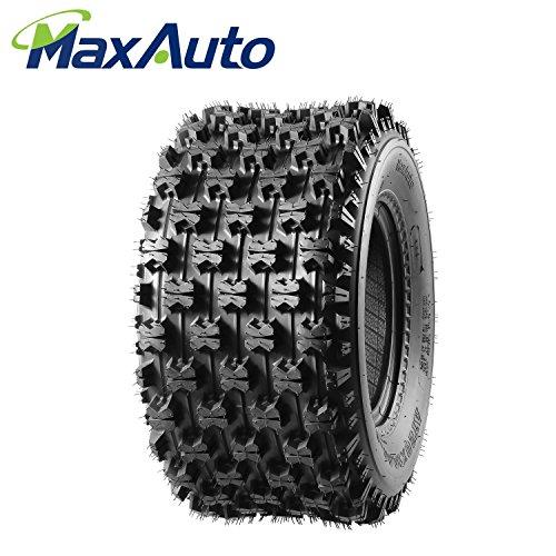 MaxAuto 20X10-9 Rear Sport ATV Tire Replacement for Yamaha YFZ450 Raptor 660 700 4-Ply