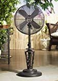 "50"" Extravagant ""Naima"" Adjustable Oscillating Outdoor Standing Fan"
