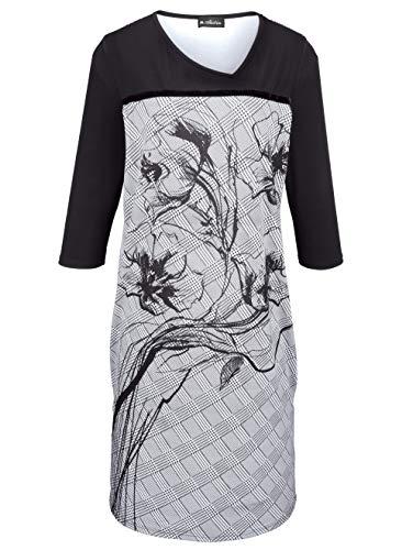 Samtband Kleid m Damen mit auf collection Brusthöhe by Schwarz Pflegeleicht xwPEOIEqB
