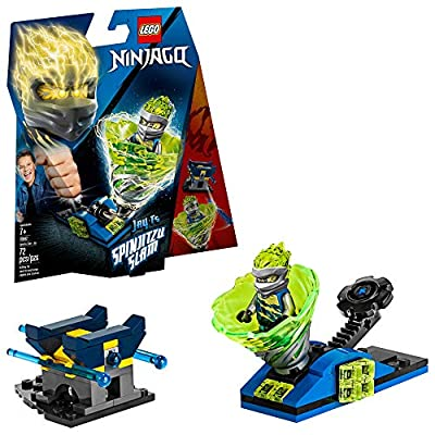LEGO NINJAGO Spinjitzu Slam Jay 70682 Building Kit (72 Pieces): Toys & Games