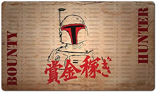 Inked Playmats Bounty Fett Playmat Inked Gaming TCG Game Mat for Cards]()