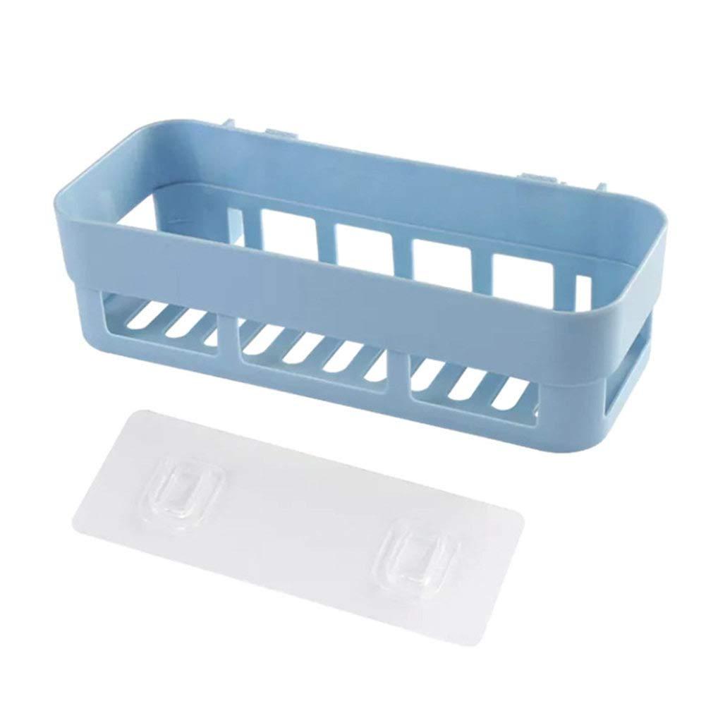 Icepeach Regalregal zur Wandmontage K/üche blau f/ür Dusche Badezimmer Ecken