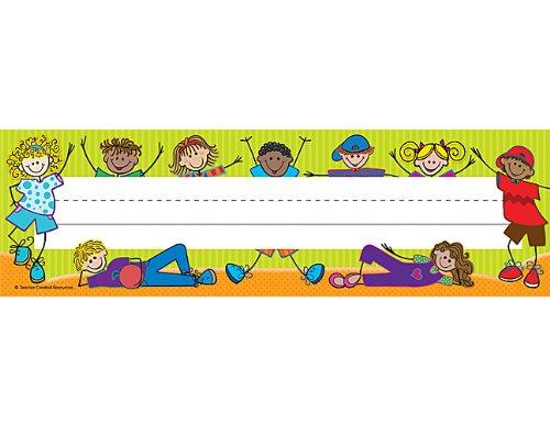 Teacher Created Resources Fantastic Kids Flat Name Plates (5514)