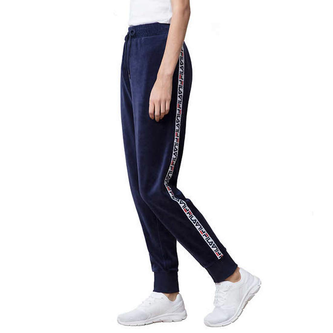 Amazon.com: Fila Dolly Velour - Pantalón para mujer: Clothing