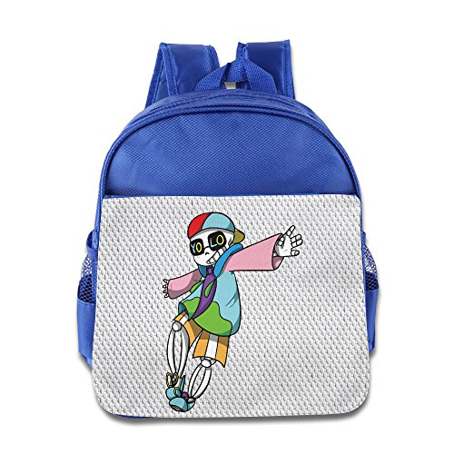 Cool Hip Hop Sans Undertale School Child Backpack Boys Girls Bags RoyalBlue