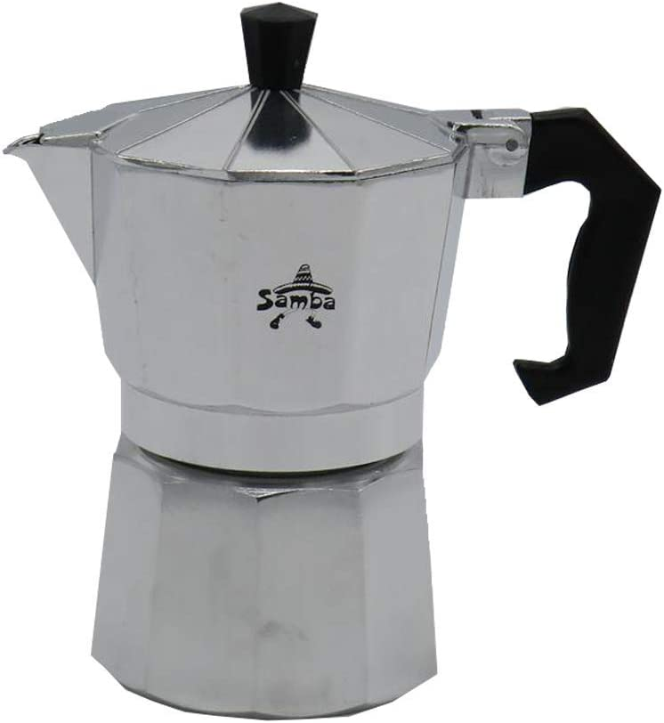 Samba - Cafetera de 3 tazas con recambios: Amazon.es: Hogar