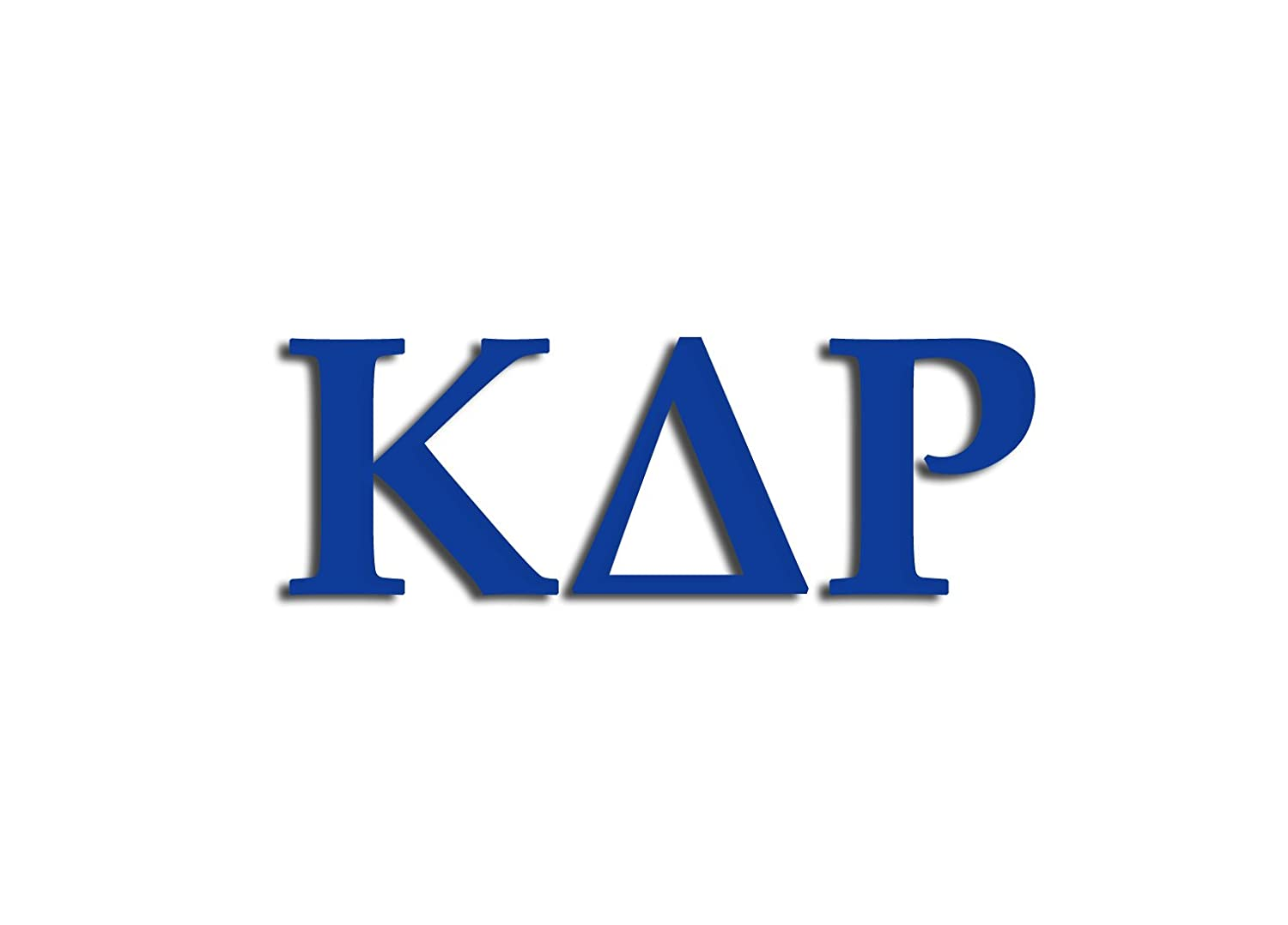 Blue Officially Licensed Kappa Delta Rho 8 x 3 Window Decal