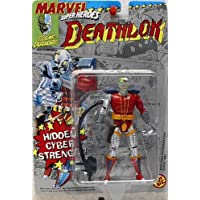 Toy Biz Marvel Super Heroes Deathlok Figura de acción 4.75 pulgadas
