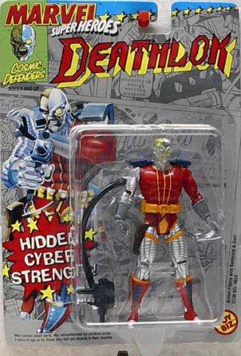 Toy Biz Marvel Super Heroes Deathlok Action Figure 4.75 Inches