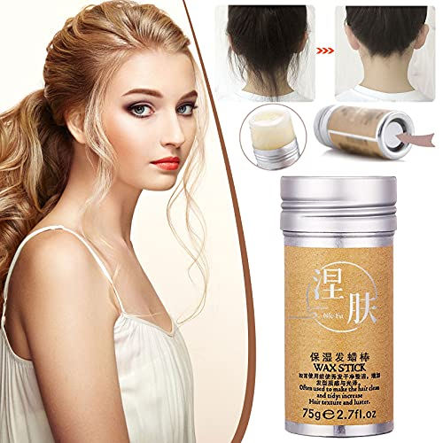 Hair Wax Stick, Wax Stick For Hair Wigs Edge Control Stick Hair Pomade Stick (Multicolor)