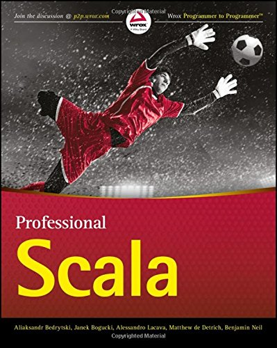 Professional Scala ISBN-13 9781119267225