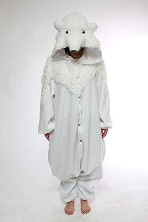 BCozy Oso Polar - Todo en un disfraz para adultos - Onesie ...