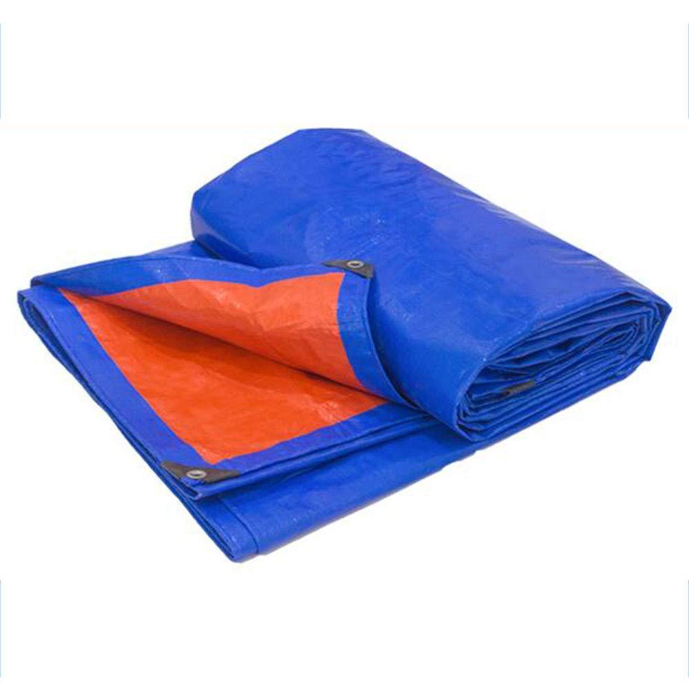プラスチック製の防水シート|植物カバー|屋外の日よけ布 - 両面防水、高密度160 G/M 2 4X10M  B07QC1WPC9