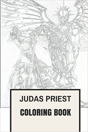 Amazon.com: Judas Priest Coloring Book: English Heavy Metal Legends ...
