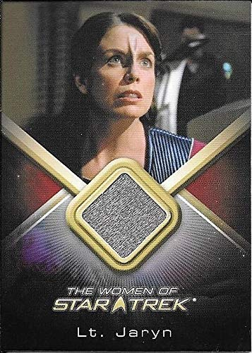 2010 Women Of Star Trek #WCC26 Megan Gallagher as Lt. Jaryn Costume Relic Card]()