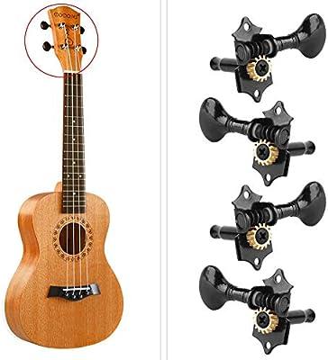 Clavija de afinación de guitarra Ukelele, 4 cuerdas Clavijas de ...