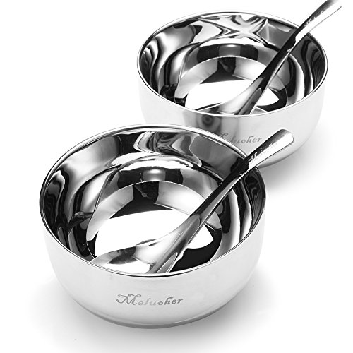 stainless steel baby bowl set - 5