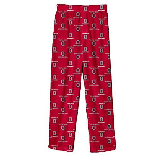 NCAA by Outerstuff NCAA Ohio State Buckeyes Youth Boys Team Color Printed Pant, Red, Youth X-Large(18)