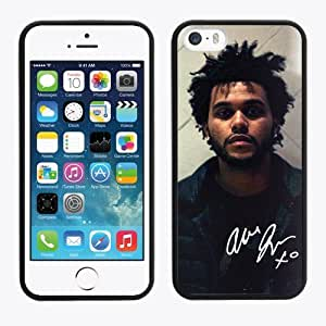 iPhone 5s Case, The Weeknd XO Phone Case Cover For iPhone 5/5s (Laser Technology) MUQ-830 by runtopwell
