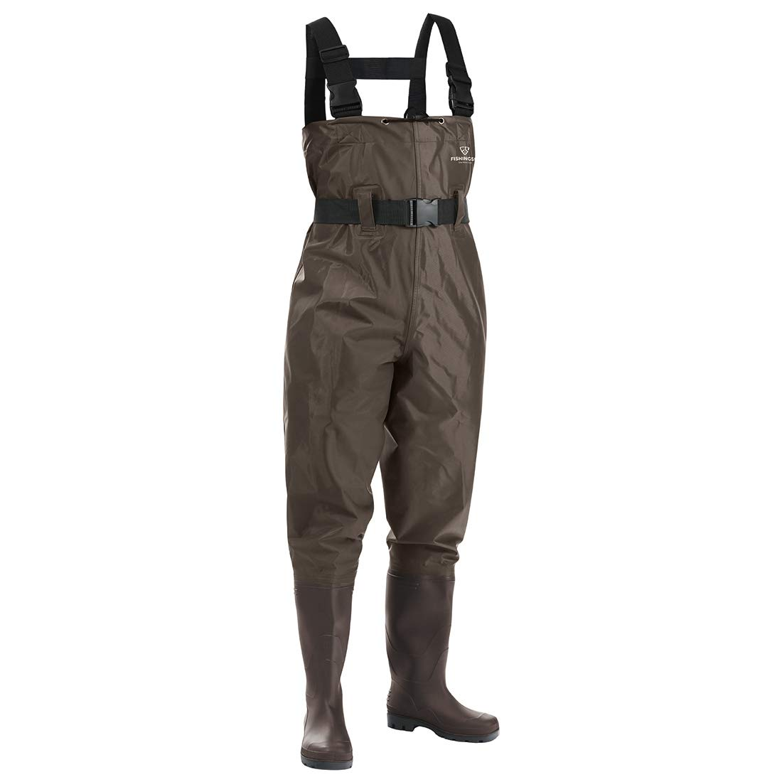 c729a617ab291 Amazon.com : FISHINGSIR Fishing Chest Waders for Men with Boots Mens Womens  Hunting Bootfoot Waterproof Nylon and PVC with Wading Belt : Sports &  Outdoors