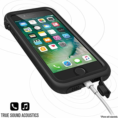 Catalyst Water Proof Shock Resistant Case for Apple iPhone 7 (Stealth Black) by Catalyst (Image #3)