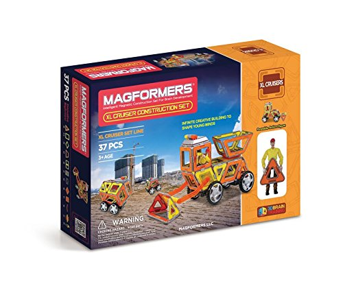 Magformers XL Cruisers Construction Set (37-pieces)
