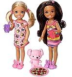 Barbie Club Chelsea Slumber Party Dolls & Accessories, 2 Pack