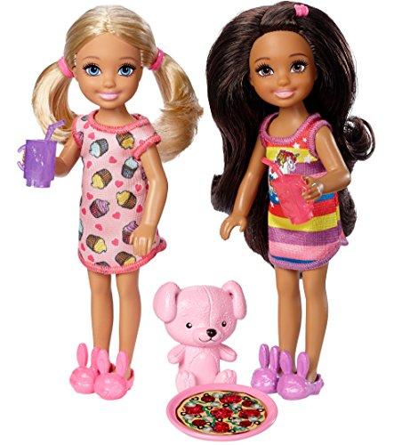 Barbie Club Chelsea Slumber Party Dolls & Accessories, 2 Pack -