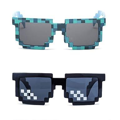Kilofly - Gafas de sol para adultos y niños (2 unidades, 8 ...