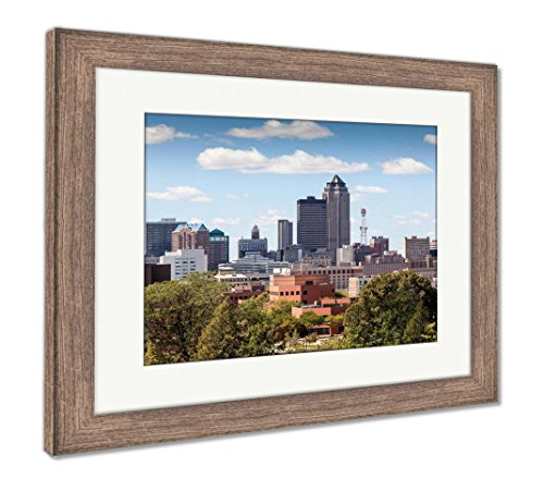 (Ashley Framed Prints Birmingham Alabama, Wall Art Home Decoration, Color, 26x30 (Frame Size), Rustic Barn Wood Frame, AG6123058)