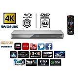 Panasonic DMP-BDT460EB 3D - 4K DVD MULTIREGION / Smart Network Blu-ray Disc Player - Bundle includes ICE age 3 (3D) or replacement title