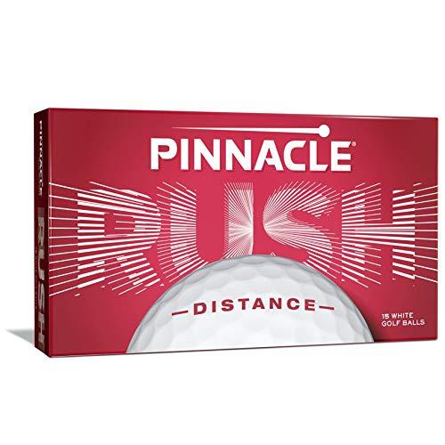Pinnacle Rush Golf Balls, White  (Pack of 15)