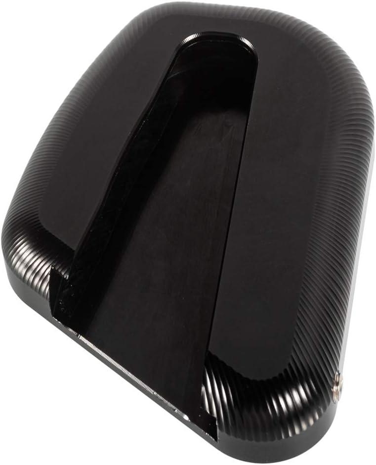 Almohadilla de Soporte Lateral Placa de Ensanchamiento de Aluminio Ampliadora de Pata de Cabra de la Motocicleta para Gold Wing GL1800 2018-2020 Cromo