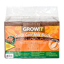 GROW!T JSCPB Coco Coir Mix Brick set of 3