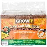 Hydrofarm GROW!T JSCPB Coco Coir Mix Brick set of 3