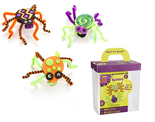 Foam & Pipecleaner Spider Kids Halloween Craft Kit