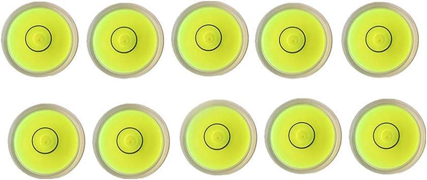 10pcs Bubble Level Measuring Tools Level Degree Mark for Hand Tool Measuring