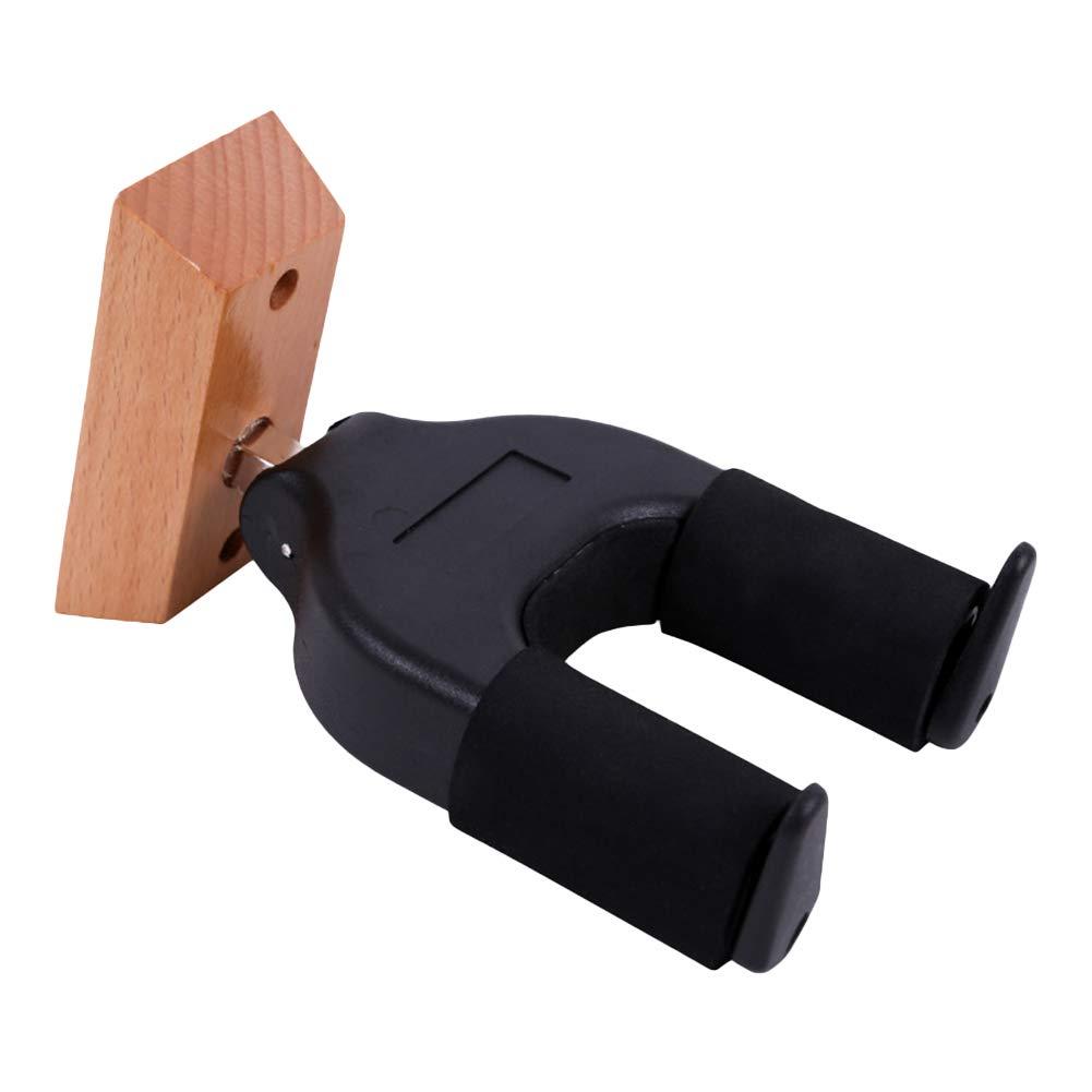 schwarz Dandeliondeme Pro Wandhalterung Haken Wand Bass f/ür K/üche Auto Grip-System Lavatory Schr/änke Badezimmer sichere Verriegelung f/ür Gitarre